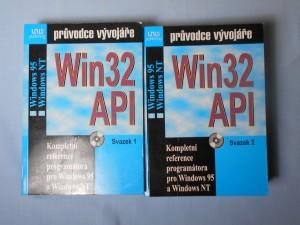 náhled knihy - Win 32 API : Kompletní reference programátora pro windows 95 a Windows NT, svazek 1, 2