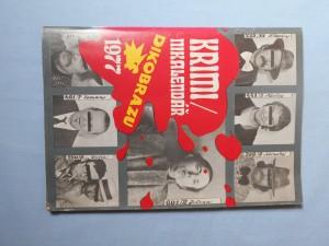 náhled knihy - Kriminikalendář Dikobrazu 1977