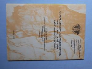 náhled knihy - Charakteristiky jeskynních systémů vzniklých rozpouštěním karbonátových hornin