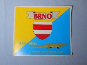 náhled knihy - Brno : Plán města, s přehledem vybraných obchodů a služeb