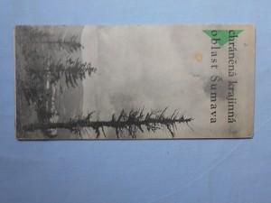 náhled knihy - Chráněná krajinná oblast Šumava