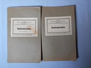 náhled knihy - Vrátného těsnopisné sešity : Sešit číslo 6b. Samoznaky