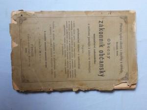 náhled knihy - Obecný zákonník občanský mocnářství rakouského a nařízení pozdější k němu se vztahující : doplněn příslušnými zákony a nařízeními o cizině, lenním právu, lesním hospodářství, literárním vlastnictví, ... vyvazení pozemků a vyvlastnění : vzdělán k účelům studijním a k praktickému užívání i objasněn z rozsudků zásadních nejvyššího soud