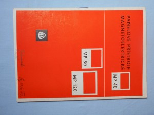 náhled knihy - Panelové přístroje magnetolelektrické : MP 40, MP 80, MP 120