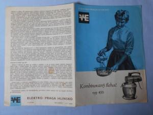 náhled knihy - Kombinovaný šlehač typ 435, Receptář kombinovaného šlehače typ 435