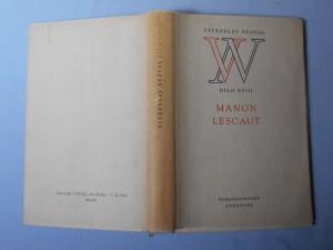 náhled knihy - Manon Lescaut : hra o 7 obrazech podle románu abbé Prévosta