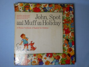 náhled knihy - John, Spot and Muff on Holiday : A Picture Textbook of English for Children