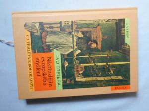 náhled knihy - Nástin dějin evropského myšlení : od Thaléta k Rousseauovi