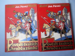 náhled knihy - Pověsti českých hradů a zámků svazek I., II.
