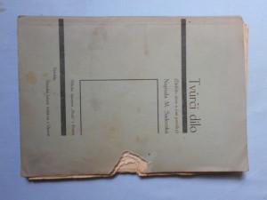 náhled knihy - Tvůrčí dílo (Ďáblův dům a jiné povídky), Příloha časopisu Stráž v Třebíči