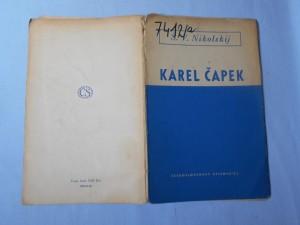 náhled knihy - Karel Čapek