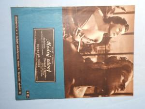 náhled knihy - Písně z filmu Modrý závoj (Andalusie, Proč pak si zpívám?)