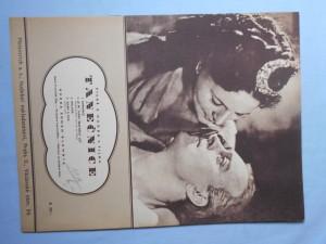 náhled knihy - Písně a hudba z filmu Tanečnice.. (Romance, Je mi teprv šestnáct let, Balada, Adam a Eva)