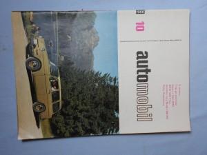 náhled knihy - Automobil časopis průmyslu motocyklů, automobilů, traktorů a příslušenství : Ročník 10, číslo 10, 11, 12