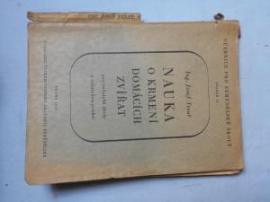 náhled knihy - Nauka o krmení domácích zvířat : Učebnice pro rolnické školy a příručka pro rolnickou praksi