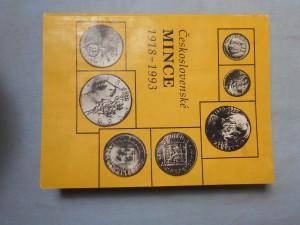 náhled knihy - Československé mince 1918-1993 : Soupis soukromé sbírky