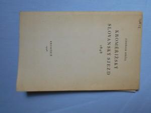 náhled knihy - Kroměřížský slovanský sjezd 1848