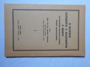 náhled knihy - O hlízách jaterních a slezinných u skotu se zvl. zřetelem k hlízám původu traumatického