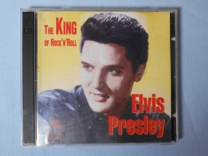 náhled knihy - Elvis Presley - The king of rock'n'Roll (Dvojalbum)