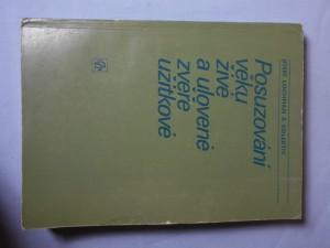 náhled knihy - Posuzování věku živé a ulovené zvěře užitkové