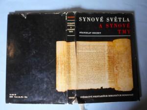náhled knihy - Synové světla a synové tmy : svědectví nejstarších biblických rukopisů