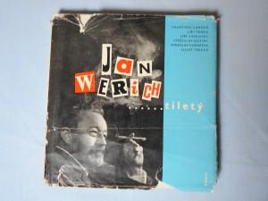 náhled knihy - Jan Werich ...tiletý : Zdravice Werichových přátel k 6.2. 1965