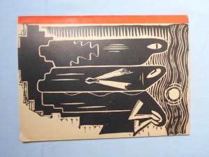 náhled knihy - Josef Čapek, in memoriam : 1 -10 cyklus Touha : 11 - 28 cyklus Oheň : od 20. července do 31. srpna 1945, Alšova síň Umělecké besedy Praha
