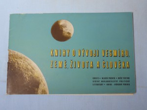 náhled knihy - Knihy o vývoji vesmíru, země, života a člověka : Katalog