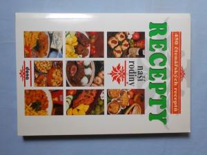 náhled knihy - Recepty naší rodiny, 450 čtenářských receptů