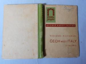 náhled knihy - Čech mezi Italy : (italsky)