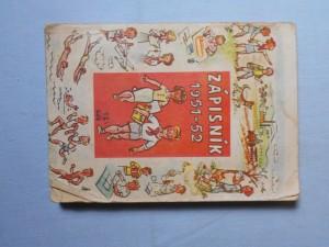 náhled knihy - Zápisník 1951 - 52
