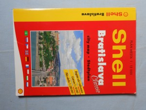 náhled knihy - Shell Bratislava : Plán města 1 : 15 000