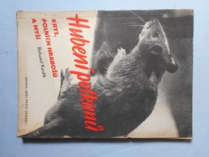 náhled knihy - Hubení potkanů, krys, polních hrabošů a myší = [Rattenausrottung]