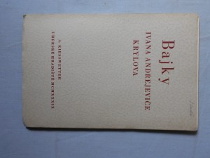 náhled knihy - Bajky Ivana Andrejeviče Krylova