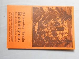 náhled knihy - Zříceniny hradu Rokštýna : topograficko-historický náčrt