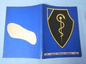 náhled knihy - Vysoká škola zvěrolékařská - veterinární fakulta Vysoké školy zemědělské a lesnické, Brno 1919-1959