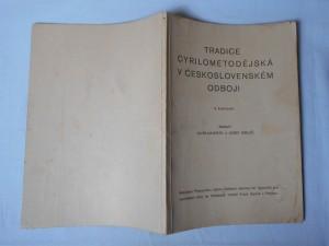 náhled knihy - Tradice cyrilometodějská v československém odboji : (sborník dokladů a vzpomínek)