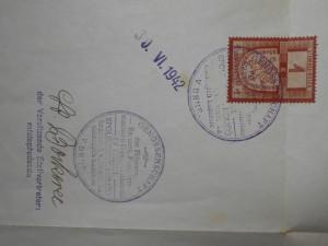 náhled knihy - Vysvědčení: Potvrzení tovaryššské práce v salonu Josef Fiala