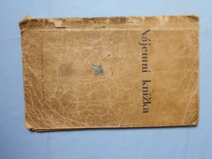 náhled knihy - Nájemní knížka s domovním řádem