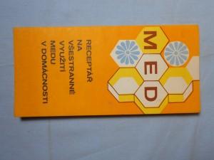 náhled knihy - Receptář na všestranné využití medu v domácnosti