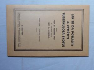 náhled knihy - Jak se dá potlačiti a vymýtiti tuberkulosa skotu?