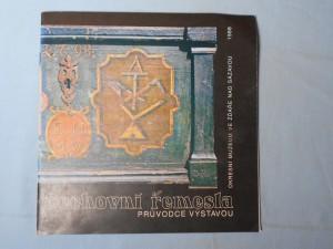 náhled knihy - Cechovní řemesla průvodce výstavou
