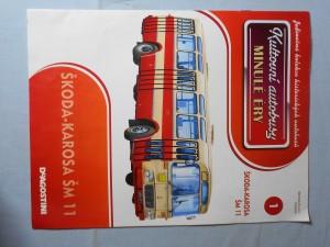 náhled knihy - Kultovní autobusy minulé éry : Škoda-Karosa ŠM 11