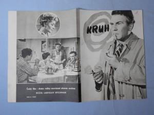 náhled knihy - Reklamní leták k filmu Kruh (režie Ladislav Rychman)
