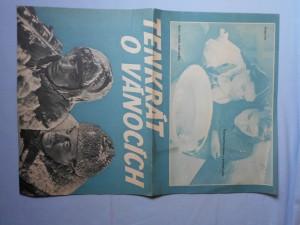 náhled knihy - Plakát k filmu Tenkrát o Vánocích (režie Karel Kachyňa)