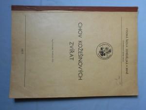 náhled knihy - Chov kožešinových zvířat : Určeno pro posl. AF [agronomická fakulta]