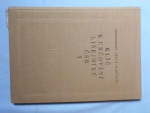 náhled knihy - Klíč k určování lišejníků ČSR. 1. díl