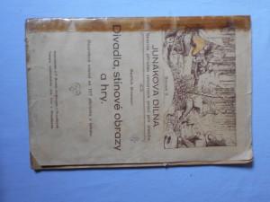 náhled knihy - Divadla, stínové obrazy a hry : podrobný návod se 107 obrázky v textu