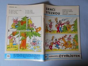 náhled knihy - Čtyřlístek : Srnčí stezkou č. 95.