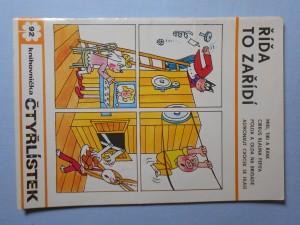 náhled knihy - Čtyřlístek : Říďa to zařídí č. 92.
